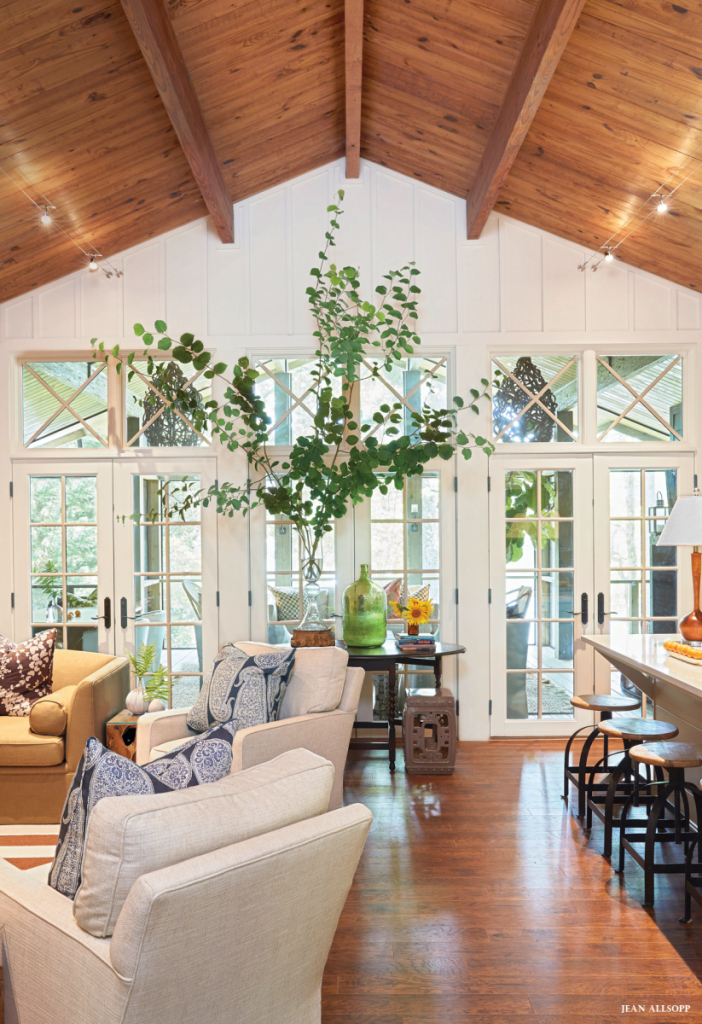 Cool Southern Comfort | Pinterest | Ceiling, Living Rooms And Woods with Vaulted Ceiling Living Room