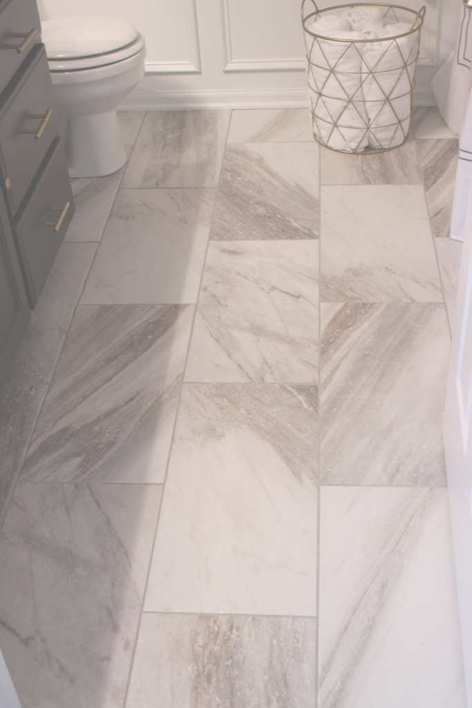 Cool Sovereign Stone Pearl Porcelain Tile In 12 X 24 At Lowes. | Bathroom intended for Unique Bathroom Floor Tile Lowes