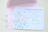 Cool Sprinkles Baby Shower – House Of Jade Interiors Blog in Baby Shower For 2Nd Baby