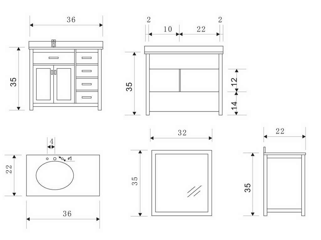 Cool Standard Bathroom Vanity Sizes Typical Bathroom Vanity Dimensions with regard to New Standard Bathroom Vanity Sizes