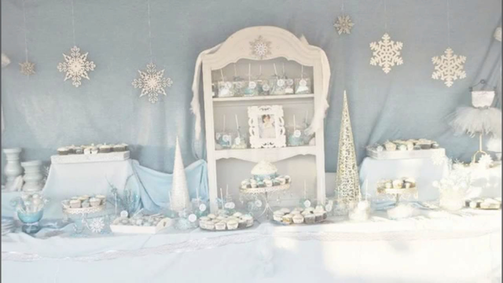 Cool Stunning Winter Wonderland Party Decorations Ideas - Youtube in Winter Wonderland Table Decorations