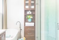 Cool Tall Bathroom Cabinets Free Standing Contemporary Elegant And intended for Tall Bathroom Cabinets Free Standing