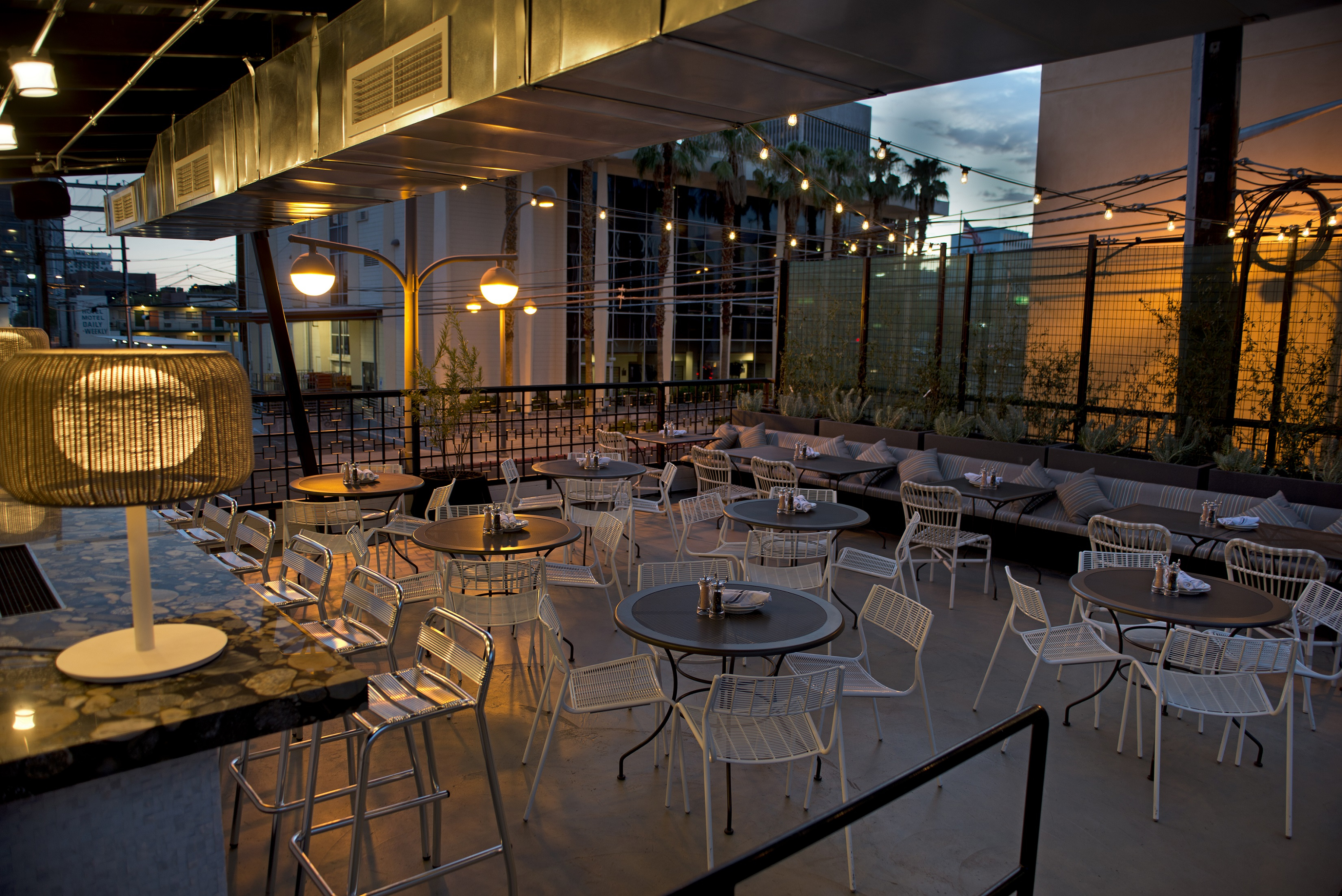 Cool The Hottest New Outdoor Dining Spots In Las Vegas inside Kitchen Table Las Vegas