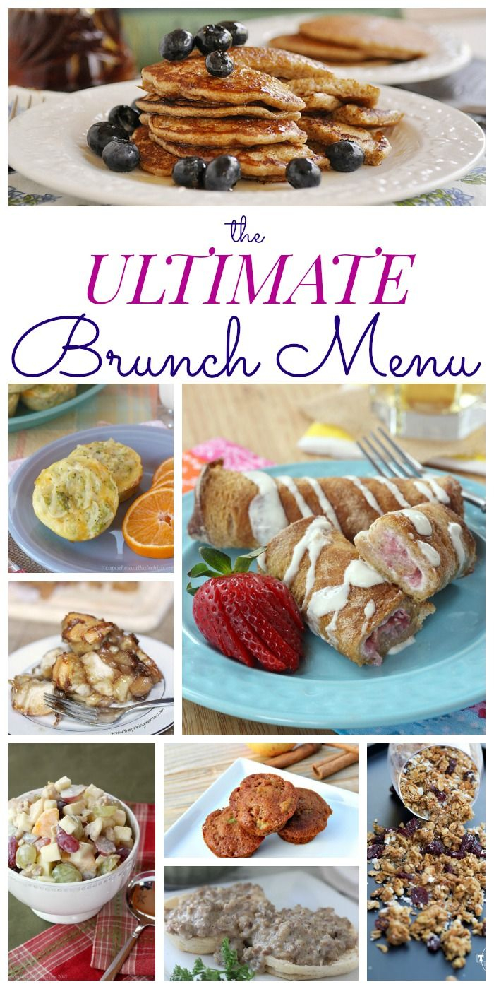 Cool The Ultimate Brunch Menu | Pinterest | Brunch Menu, Brunch And within Luxury Baby Shower Brunch Menu