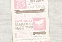 Cool Tiny Prints Baby Shower Invitations Luxury Vintage Baby Shower in Tiny Prints Baby Shower