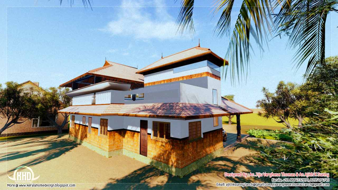 Cool Traditional Kerala House Plans With Photos | The Base Wallpaper throughout Inspirational Kerala Traditional House Plans With Photos