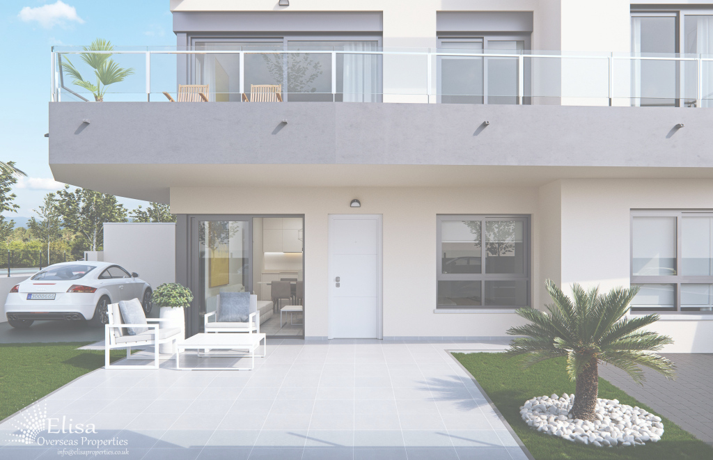 Cool Uber-Modern 2 Bedroom Bungalow Apartments In Orihuela Costa - Elisa inside Bungalow Apartments
