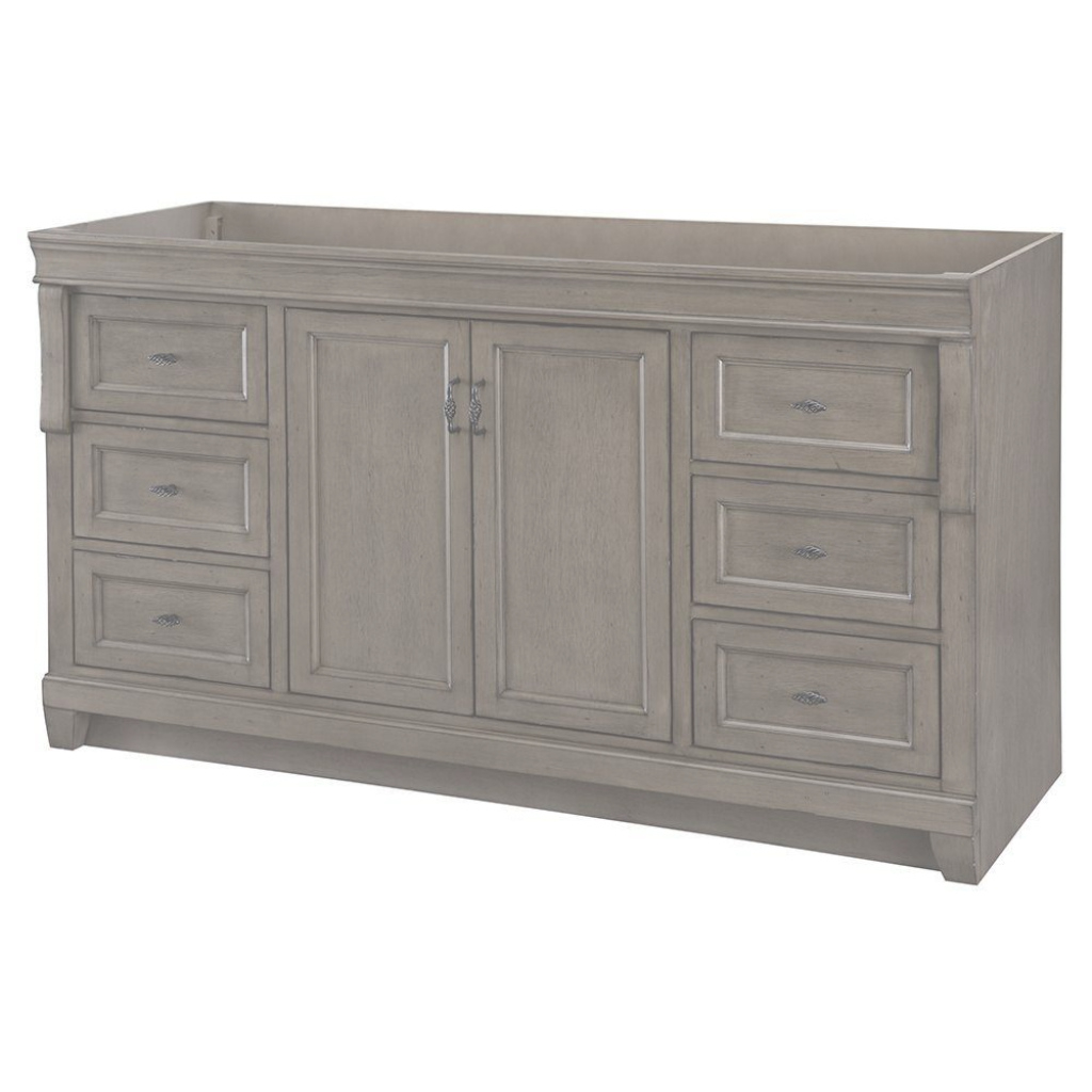 Cool Vanities Without Tops - Bathroom Vanities - The Home Depot pertaining to 65 Inch Bathroom Vanity