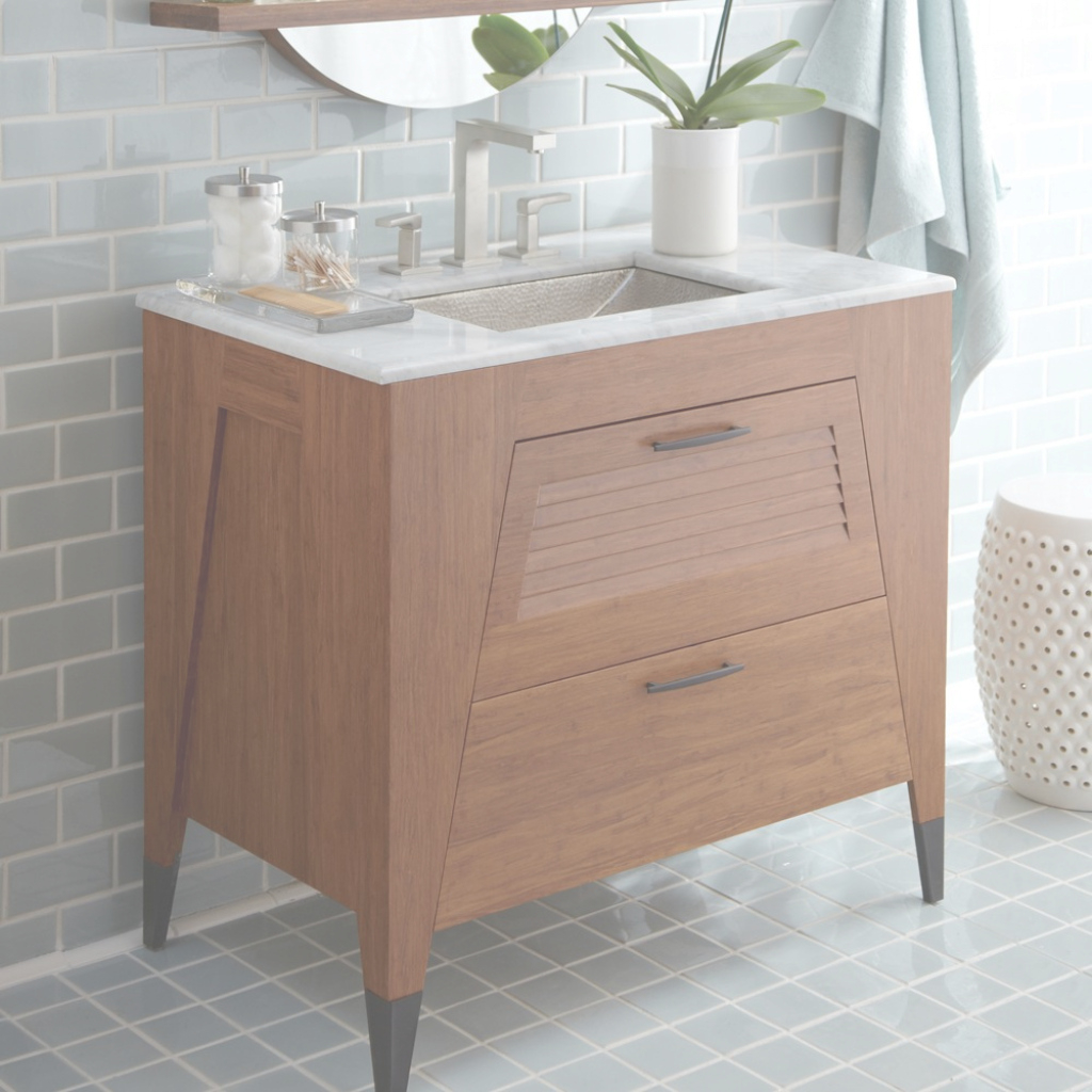 Cool West Bamboo Bathroom Vanity : Top Bathroom - Bamboo Bathroom Vanity pertaining to Good quality Bamboo Bathroom Vanity