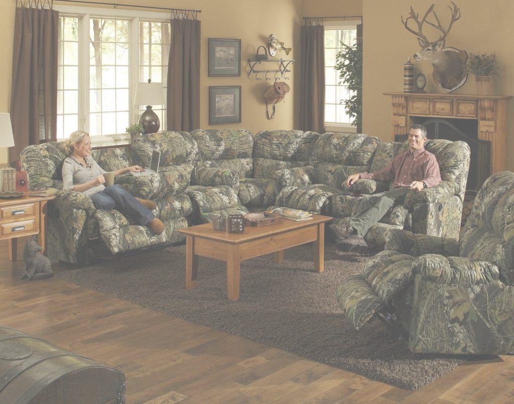 Cool Who Would Love To Have This In Their Home? Camo Sectional From in Camo Living Room Set