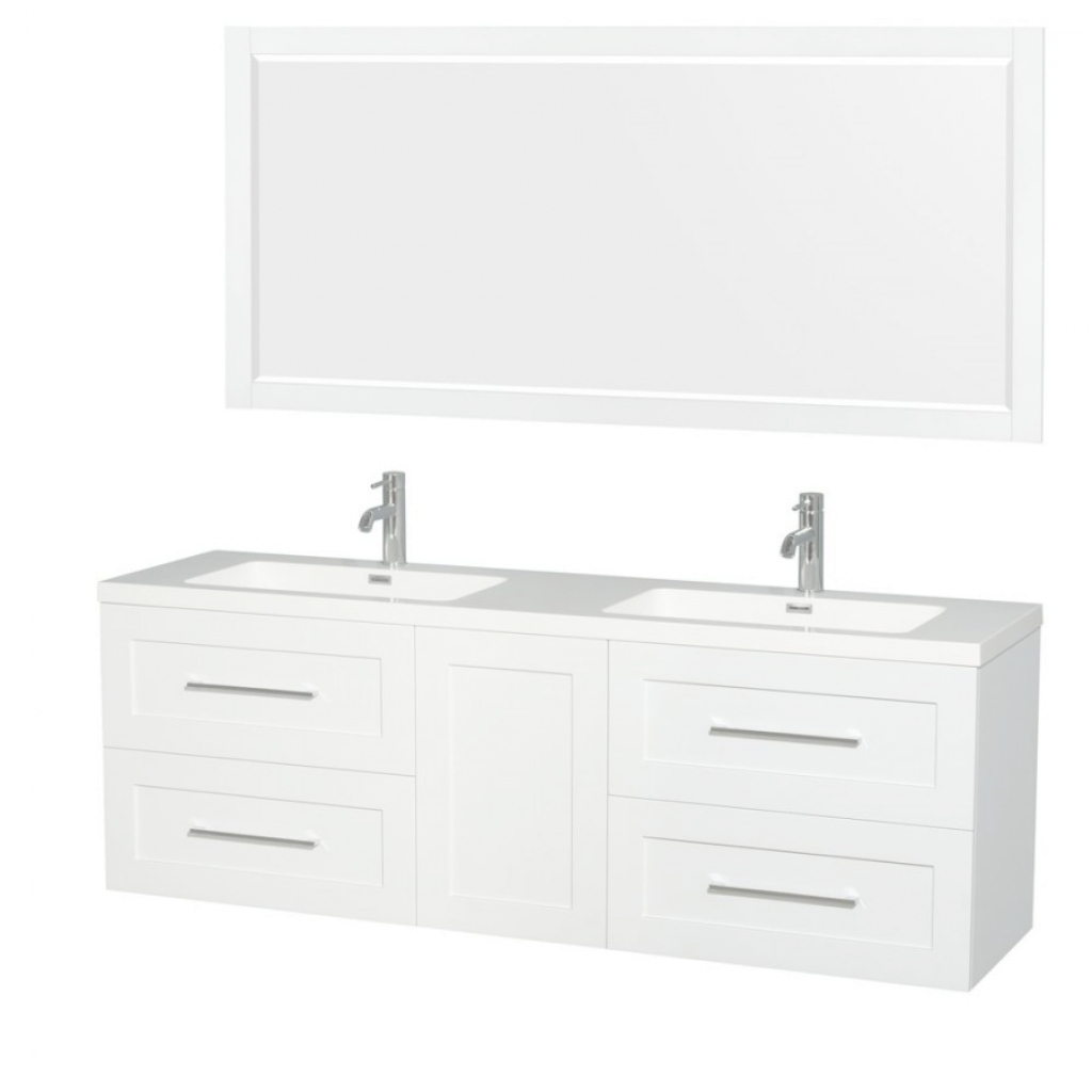 Cool Wyndham Collection Wcr450072Dgwarintm70 72 Inch Double Bathroom intended for 70 Inch Bathroom Vanity