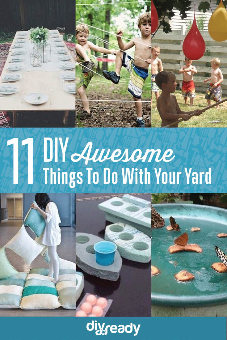 Elite 11 Diy Awesome Things To Do With Your Yard • Sister On A Budget intended for Best of Fun Things To Do In Your Backyard