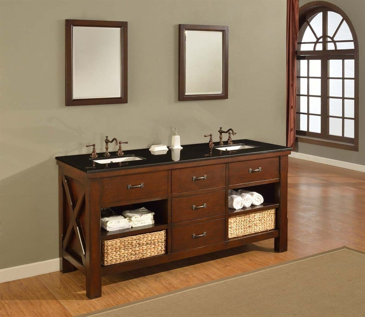 Elite 14 Cool Mission Style Bathroom Vanity Ideas | Bathroom Vanities in Mission Style Bathroom Vanity