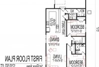 Elite 2 Bedroom 2 Bath 1200 Sq Ft House Plans | Theworkbench with High Quality 2 Bedroom House Plans