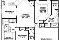 Elite 3 Bedroom House Plans One Story (Photos And Video within House Plans With Photos One Story