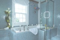 Elite 40 Vintage Blue Bathroom Tiles Ideas And Pictures with Blue Mosaic Bathroom
