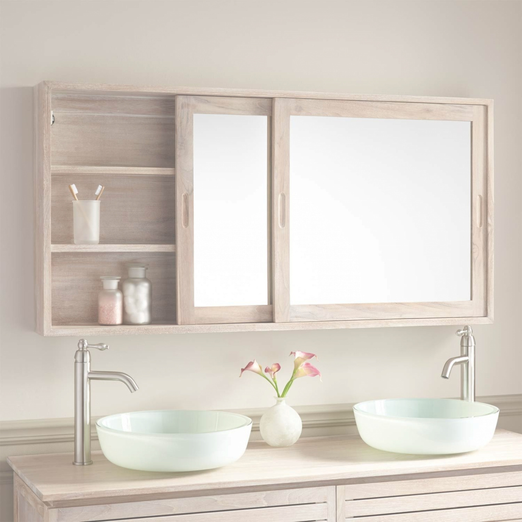 "Elite 55"" Wulan Teak Medicine Cabinet 