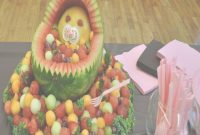 Elite Ba Shower Food Ideas Ba Shower Food Ideas Fruit For Baby Shower throughout Review Watermelon Baby Shower