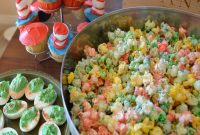 Elite Ba Shower Food Ideas For Boy Cupcakes Popcorn And Egg Devil with Baby Shower Food Ideas For Boy