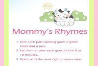 Elite Ba Shower Rhymes Oxsvitation Inside Elegant Baby Shower Rhymes with regard to Best of Baby Shower Rhymes