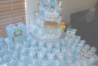 Elite Baby Boy Showers Ideas To Make Themes For Theme And Girl Idea throughout Homemade Baby Shower Decorations