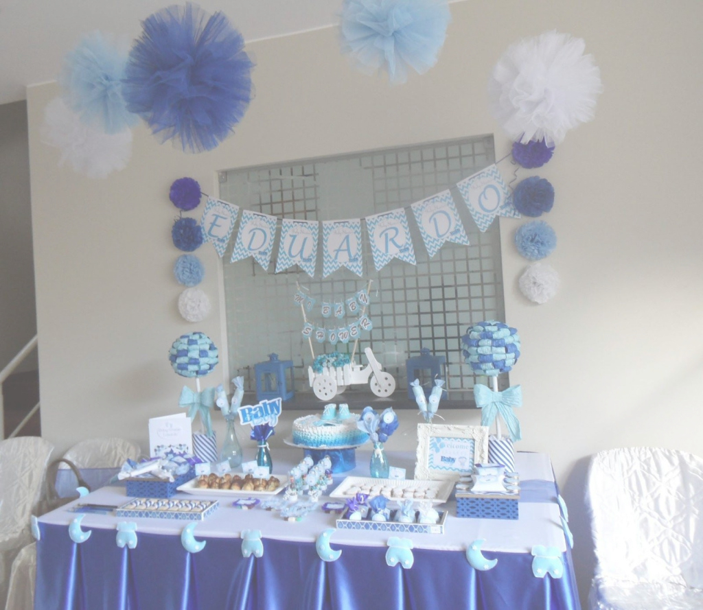 Elite Baby Shower De Niños - Buscar Con Google | Baby Shower Boy inside Decoracion De Baby Shower De Niño