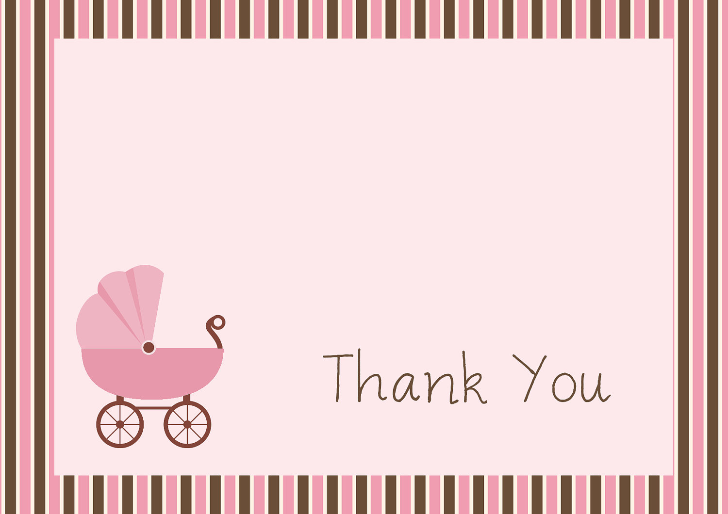 Elite Baby Shower Thank You Cards Free Printable - Acur.lunamedia.co throughout Printable Baby Shower Cards