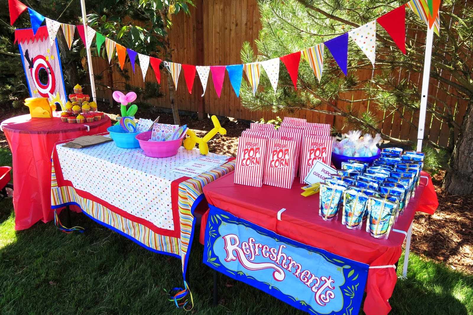 Elite Backyard Carnival Birthday Party Backyard Diy Gogo Papa pertaining to Backyard Carnival