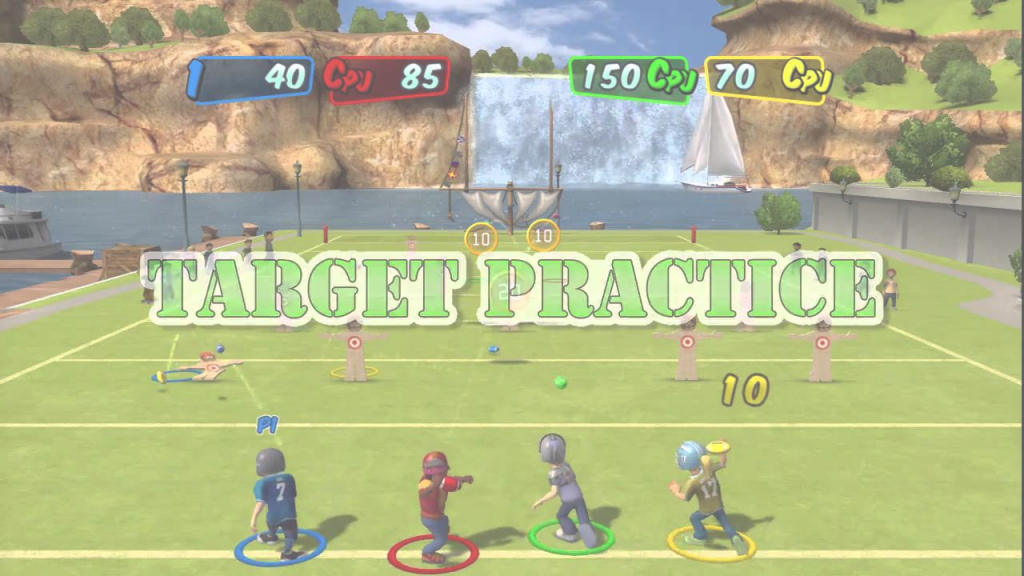 Elite Backyard Sports Rookie Rush - Mini-Games Trailer - Youtube throughout Elegant Backyard Sports Football
