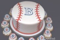 Elite Baseball Baby Shower Cake With Cupcakesk Noelle Cakes | Cakes in Fresh Baseball Baby Shower Cakes