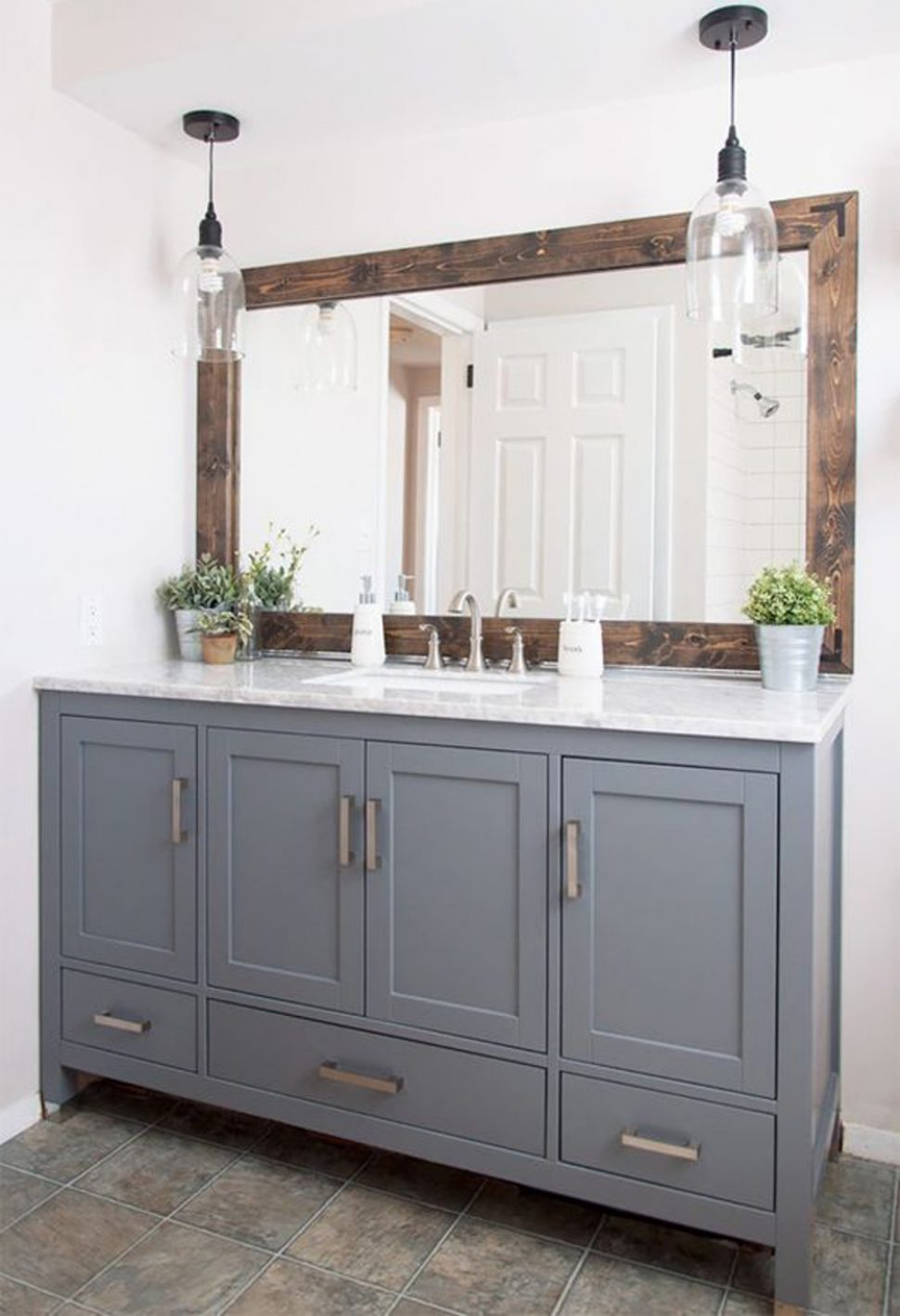 Elite Bathroom : Bathroom Rustic Mirror Frames Diy Gorgeous Faucets Moen throughout Walmart Bathroom Vanities