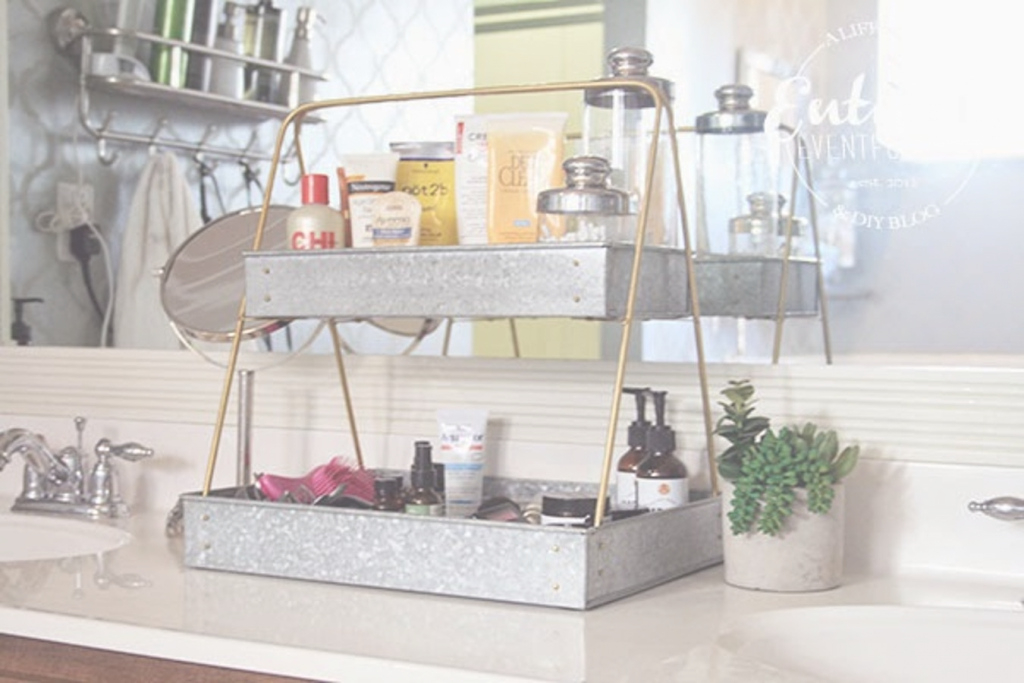 Elite Bathroom Countertop Shelves Creative Storage Ideas Unorthodox - Avaz throughout New Bathroom Counter Storage Ideas