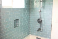 Elite Bathroom : Green And Blue Glass Tile Backsplash White Ideas Gray Of for High Quality Blue Glass Tile Bathroom