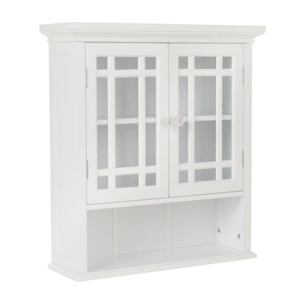 Elite Bathroom Wall Cabinets - Bathroom Cabinets & Storage - The Home Depot within Set Wall Bathroom Cabinets