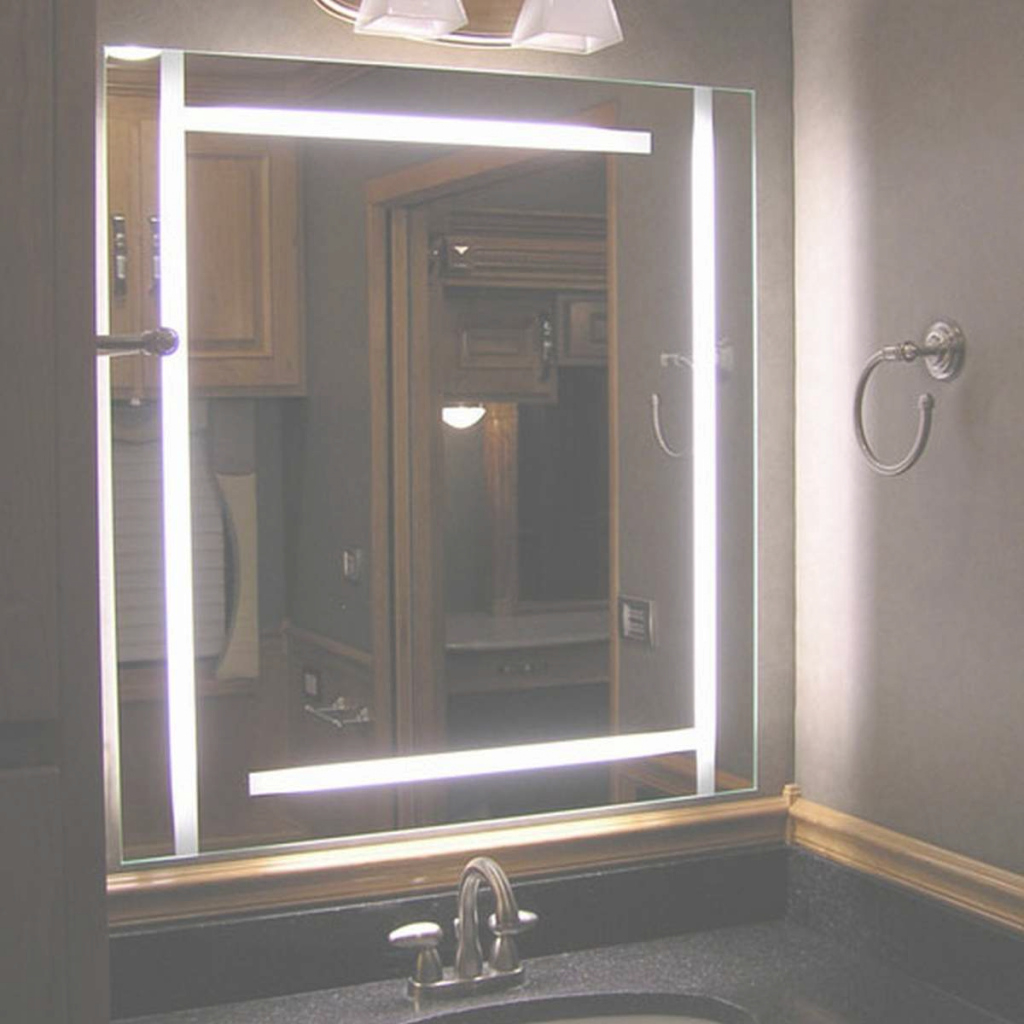 Elite Built In Bathroom Mirror | My Web Value intended for Bathroom Mirror With Built In Light