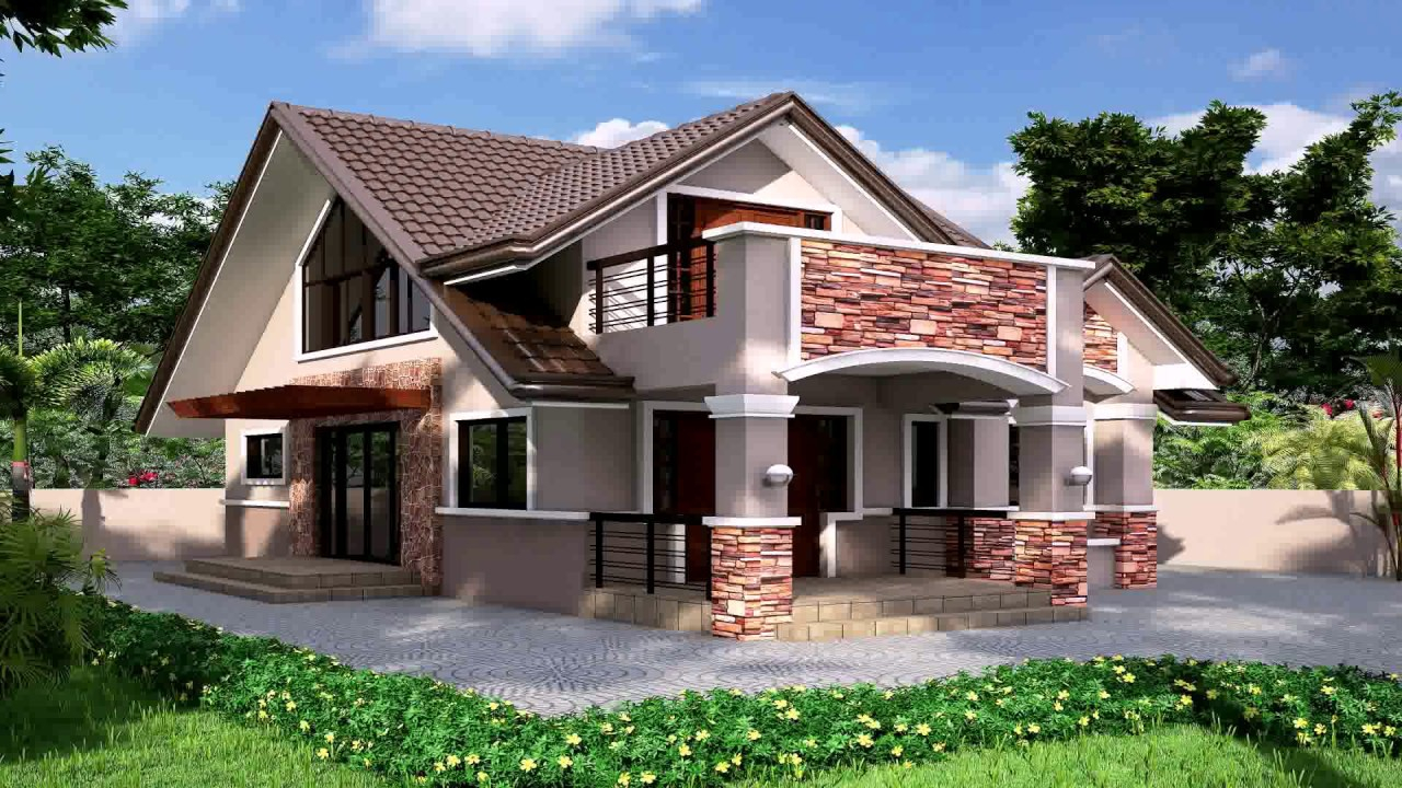 Elite Bungalow House Design With Floor Plan In Philippines - Youtube throughout House Design With Floor Plan Philippines