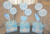 Elite Centros Mesa Para Baby Shower Con Siluetas Centrodemesa Decoration within Set Centros De Mesa Para Baby Shower Economicos