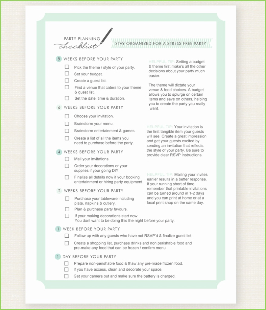 Elite Checklist Pdf Planning A Baby Shower Image Guide From Smilebo Photo for New Baby Shower Planning Guide