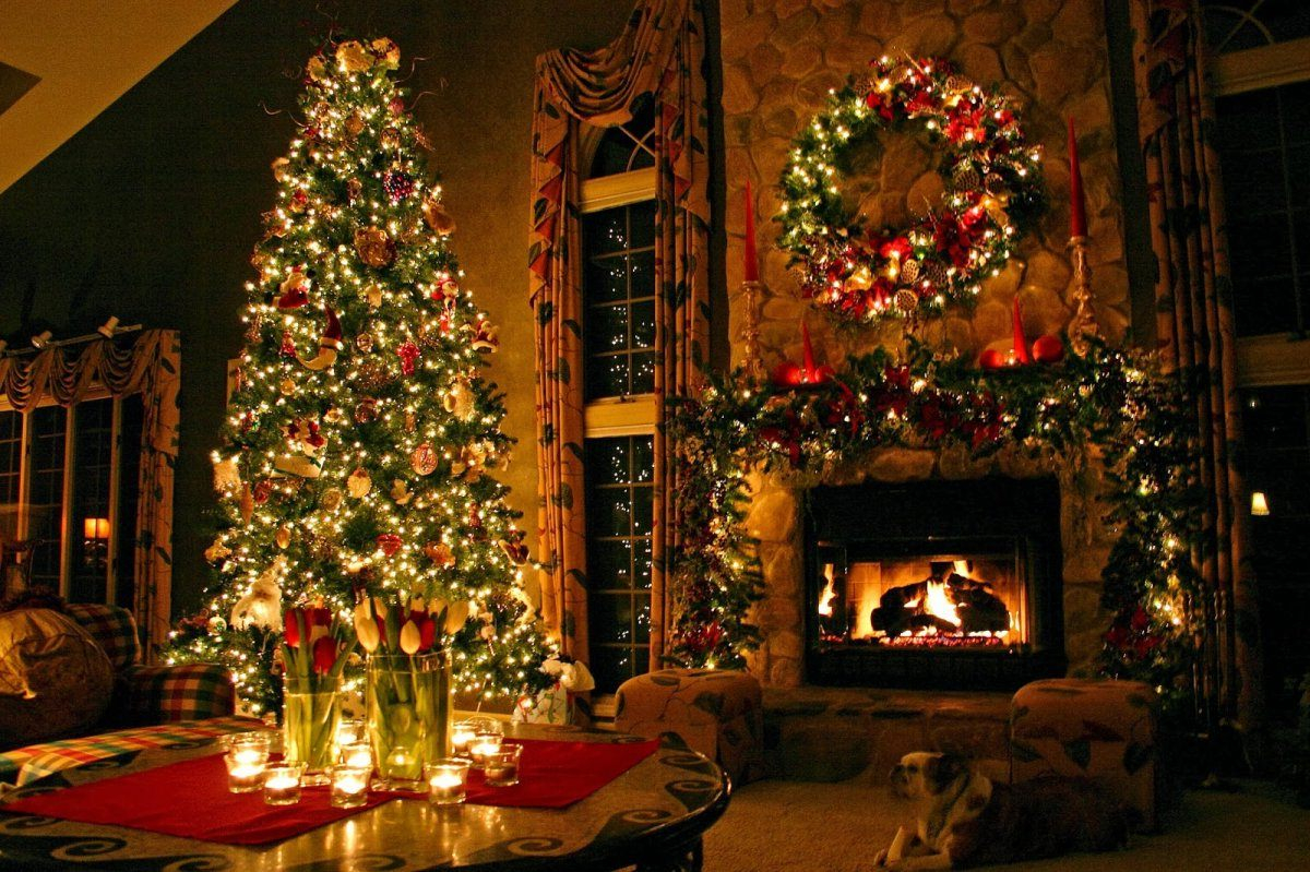 Elite Christmas Living Room Simple Inspiration Literarywondrous Decor inside Christmas Living Room