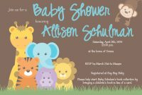 Elite Classy Safari Animals Baby Shower 9 – Wyllieforgovernor for Awesome Safari Animals Baby Shower