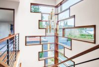 Elite Contemporary Cream Stair Tower With Windows … | Rail Sta… in Window Design Pictures