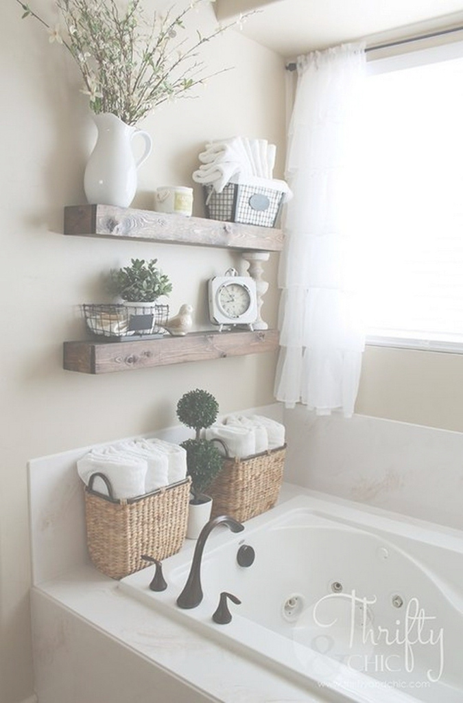 Elite Cool 99 Awesome Diy Home Decor Rustic Ideas In 2017 Http://www in Bathroom Shelf Decorating Ideas