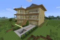 minecraft mansion ideas blueprints