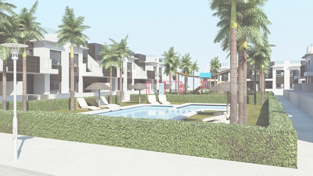 Elite Costa Blanca South – New Apartments En Bungalow Style Only 1800M in Bungalow Apartments