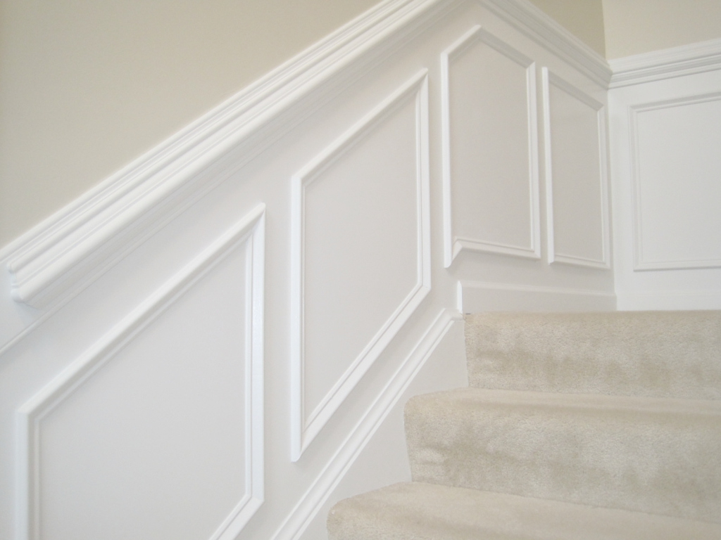 Elite Designed To Dwell: Tips For Installing Chair Rail & Wainscoting with regard to Lovely How High Should A Chair Rail Be