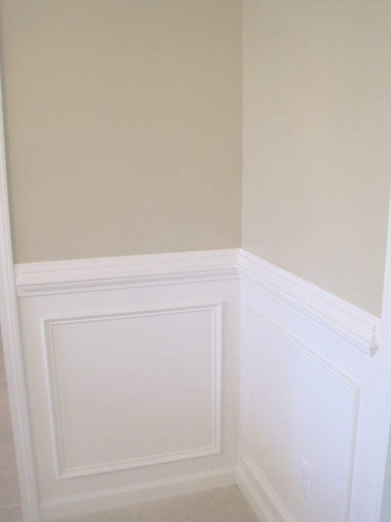 Elite Dining Room Paint Ideas With Chair Rail | The Room I Don T Want To regarding How High Should A Chair Rail Be