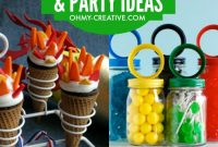 Elite Diy Olympic Crafts And Party Ideas – Oh My Creative regarding Olympic Themed Decorations