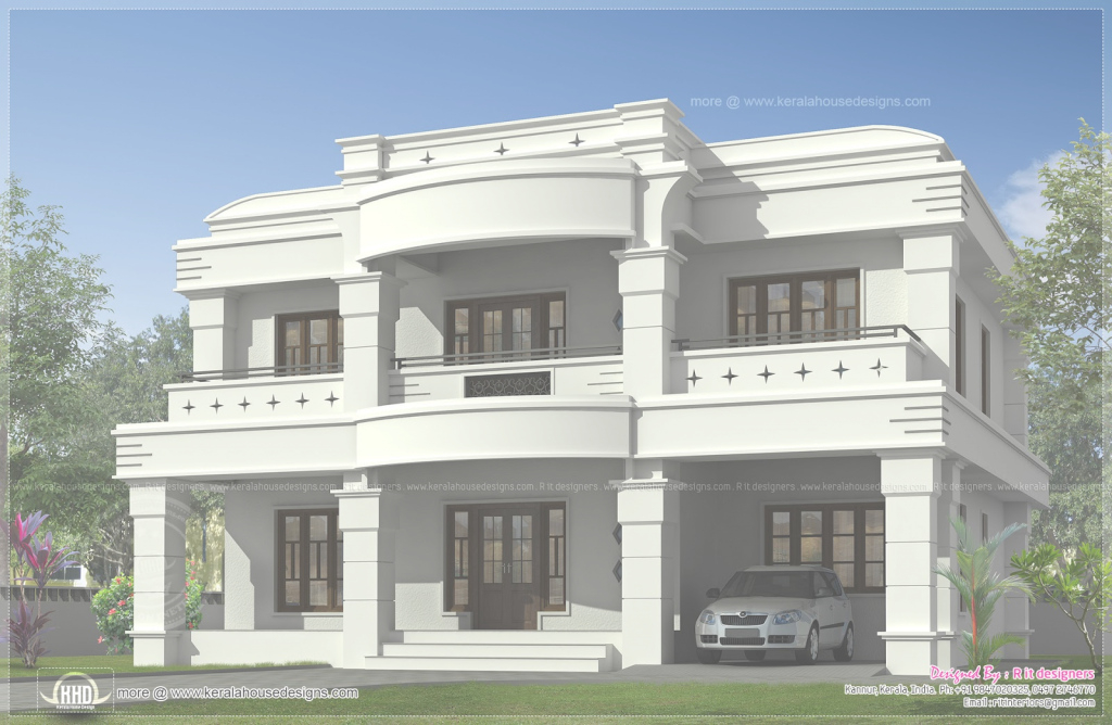 Elite Double Storied Luxury Home Exterior Kerala Design Floor - Kaf Mobile within Indian Home Exterior Design Photos Middle Class