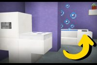 Elite ✓ Minecraft: How To Make A Working Bathroom – Youtube within Review Minecraft Bathroom Ideas