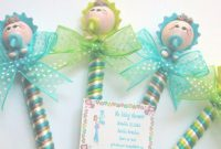 Elite Enjoyable Ideas Recuerdos Baby Shower Para Ni O Plumas Pasta pertaining to Baby Shower Recuerdos